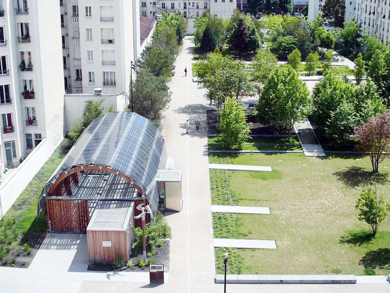 Parc urbain il t 9 ancienne usine bic for 43591 white cap terrace